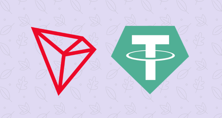TRON (TRX) partnership with Tether (USDT)